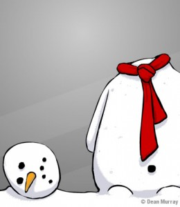 Dean Snowman Infidel Cartoon